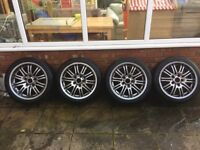 BMW M3 genuine factory wheels and tyres