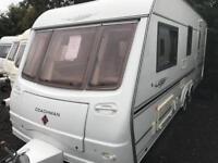 Coachman laser twin axle 4 berth with aircon touring caravan