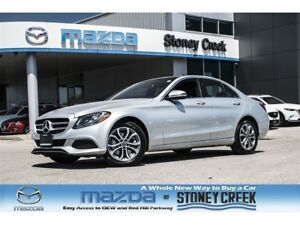 2017 Mercedes-Benz C-Class C 300 Panoramic Roof Nav Leather