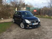 Suzuki swift sport 1.6 Additional body kit, 55k