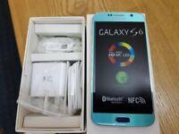 Samsung Galaxy S6 - 32GB - blue (Unlocked) Smartphone