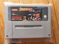 Super Nintendo Starwing Cartridge