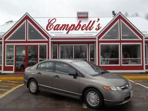 2008 Honda Civic DX-G A/C!! CRUISE!! PW PL ALLOYS!! 5 SPD GAS SA
