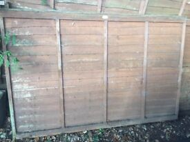 2 x 4 foot fence panels