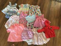 Large Girls Summer Clothing Bundle- Next, Gap, Mark's and Spencer and John Lewis age 3-6 months