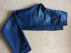 ASOS brand new mens jeans in blue 34/32 Grab a bargain !