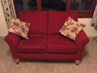 2 seater sofa and matching chairs