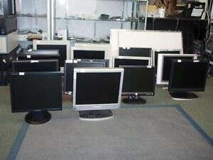 Used LCD Computer Monitors for Sale (DVI to HDMI adapter for free)