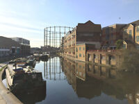 1 bed flat with Canal Views in secure wharf development