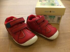 New Start Rite Baby Boy Leather Shoes 4F EU 20