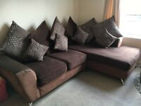 Corner Sofa and Swivel Seat in great condition