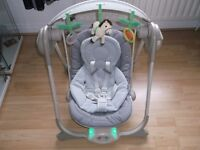 Chicco Polly Swing - Grey - In great condition