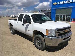 2012 Chevrolet SILVERADO 2500 4WD CREW CAB LS DURAMAX DIESEL