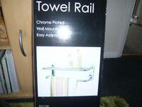 CHROME TOWEL RAIL (NEW)