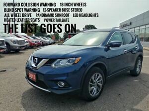 2015 Nissan Rogue SL AWD  Navigation  FREE Delivery