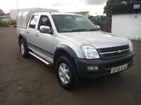 isuzu rodeo double cab pick up 4x4 3.0 turbo diesel manual 2006 56