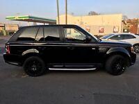 Black Range Rover Sport. 3.0L Diesel. HSE. AUTO. 12
