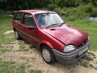 Rover 100 Ascot 1997 metro 111 k series BARN FIND