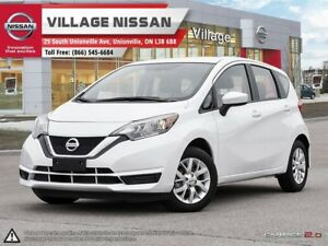 2017 Nissan Versa Note 1.6 SV Nearly new 2017 Versa Note SV!