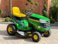 """John Deere X125 Ride on mower - 42"""" deck - lawnmower - Honda / Kubota"""