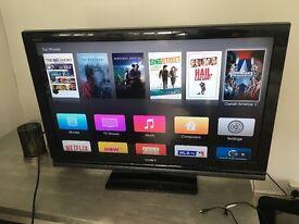 "Sony LCD 40"" screen. Sony KDL40V4000"