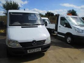 MERCEDES-BENZ SPRINTER 2.2 311 CDI MWB LOW ROOF 109 BHP . TRADE SALE ONLY (white) 2002