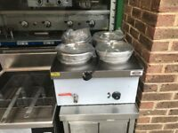 NEW 4 POT WET BAIN MARIE CATERING COMMERCIAL KITCHEN FAST FOOD TAKE AWAY KEBAB CHICKEN CAFE SHOP