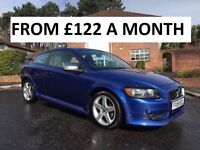 2009 VOLVO C30 2.4 D R-DESIGN ** FINANCE AVAILBLE ** SERVICE HISTORY ** FULL LEATER **