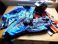 Wulfsport Wulf Childrens Arena Motocross Enduro Quad Complete Set - Fit age 5-7