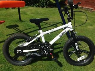 "Boys 14"" Pirate BMX Bike. Cost £69.99 from Argos. Less than 1yr old. Suitable for 3+ years."