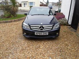 Mercedes C180 cgi as new condition, bluetooth