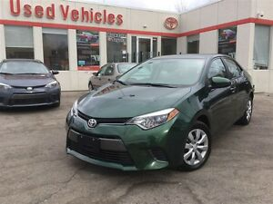 2016 Toyota Corolla LE - ONE OWNER LEASE / ONLY 24