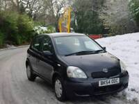 TOYOTA YARIS 1.0L 2004 5DOOR 39500 WARRANTED MILE 17 SERVICES MOT TILL28/10/2018 EXCELLENT CONDITION