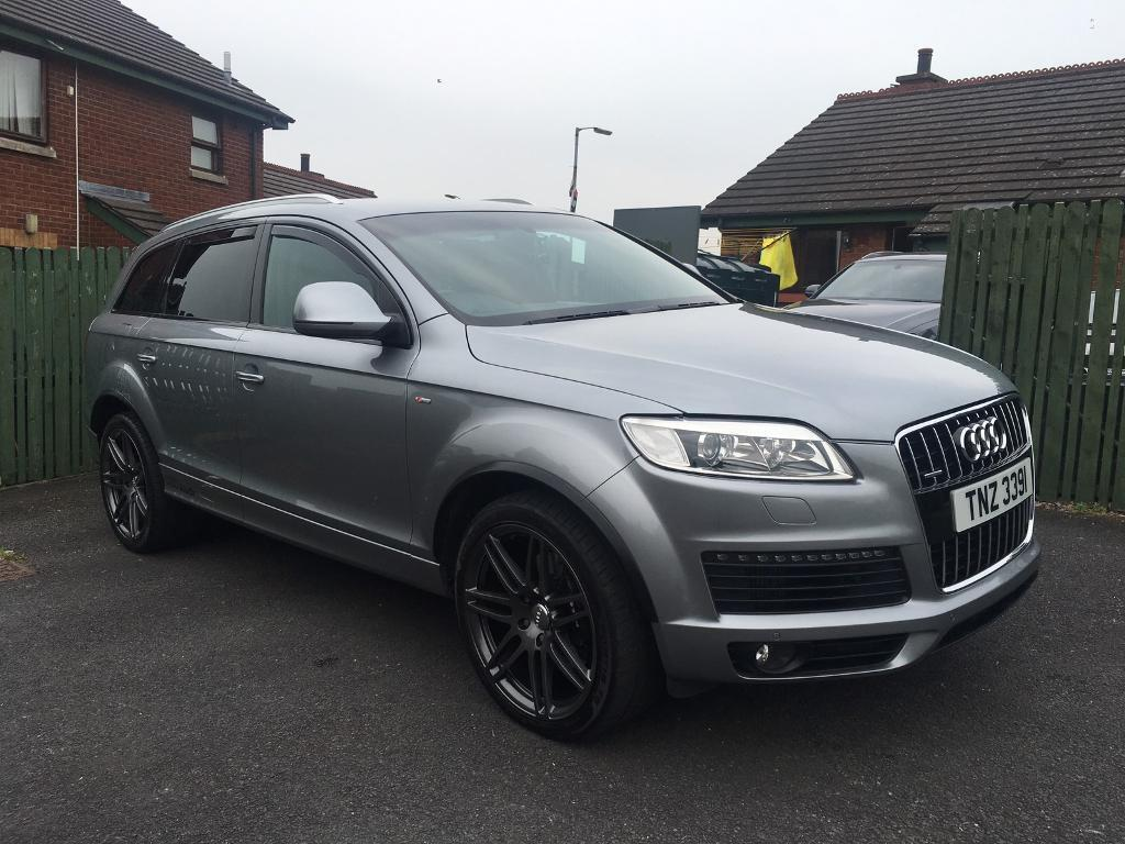 audi q7 4 2 v8 tdi sline 2007 in donaghadee county down gumtree. Black Bedroom Furniture Sets. Home Design Ideas