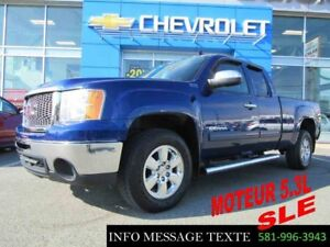 2013 GMC SIERRA 1500 4WD EXTENDED CAB 5.3L