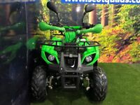 125cc MOTOMAGNUS QUAD BIKE **SCOTQUADS** **RESTRICTABLE THROTTLE** **AUTOMATIC**