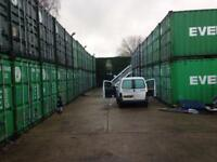 Self storage containers 20ft £30pw