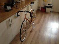 Vintage Fixie conversion - Fixed Gear Road Bike
