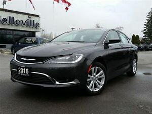 2016 Chrysler 200 Limited-Back UP Camera-8.4 Touchscreen