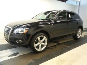 2012 Audi Q5 2.0T S-LINE PREMIUM + 34KMS ONLY + PANOROOF !!!