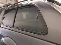 Nissan Navara canopy came off 2012 grey with 3 keys