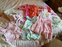 Baby girl clothes bundle 0-3 3-6