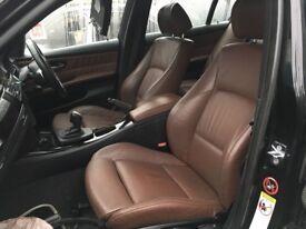 GENUINE BMW 3 SERIES E90 M SPORT LEATHER INTERIOR SEATS INTERIOR IN DAKOTA TERRA