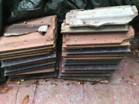 Concrete roof tiles small lot mixed colours