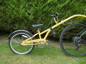 Tag-a-Long Child's ride on bike trailer- Used