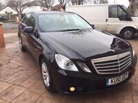Mercedes E220 Diesel black taxi Uber ready