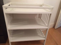 White Ikea Baby Changing Unit in excellent condition.