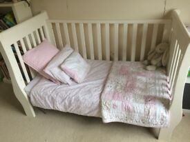 Little White Company cot cotbed