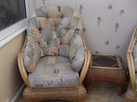4 piece conservatory furniture Reduced in price for quick sale
