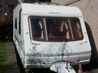 Swift Challenger 2004 4 berth family caravan